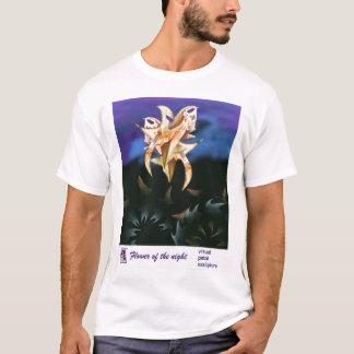 Camiseta Flor da noite por Anjo Lafin