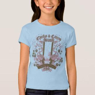Camiseta Flor de flamingo