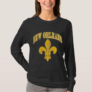 Camiseta Flor de lis de Nova Orleães