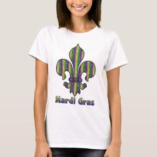 Camiseta Flor de lis do carnaval da listra