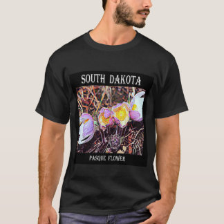 Camiseta Flor de South Dakota Pasque
