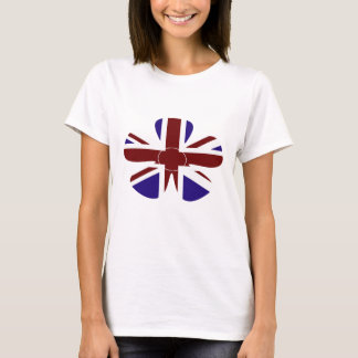 Camiseta Flor de Union Jack