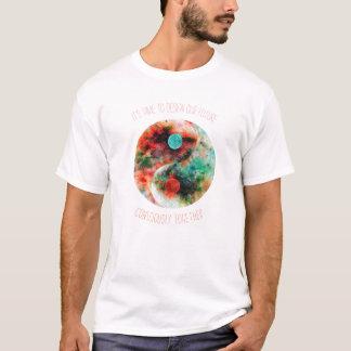 Camiseta Flor de Yin Yang