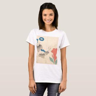 Camiseta Flor do cravo-de-defunto no verão