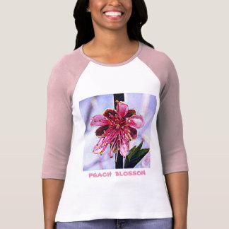 Camiseta Flor do pêssego de Delaware