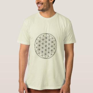 Camiseta Flor do t-shirt da vida/orgânico