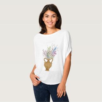 Camiseta Flor em um vaso pela arte de Twixylicious
