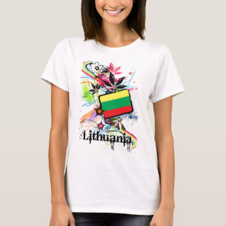 Camiseta Flor Lithuania