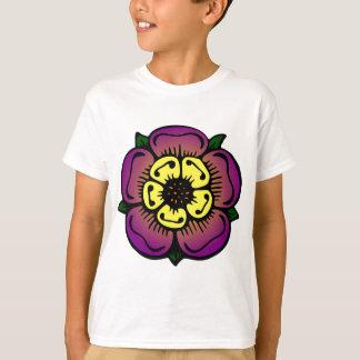 Camiseta Flor roxa