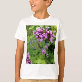 Camiseta Flor roxa de Penland: Sallie por meu lado