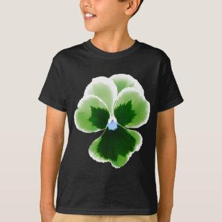 Camiseta Flor verde 201711d do amor perfeito