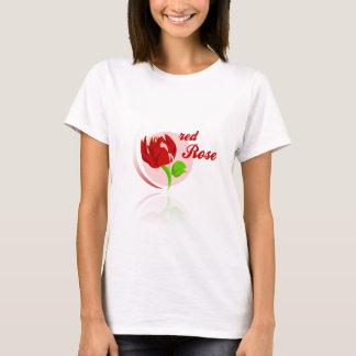 Camiseta Flor vermelha dos inimigos