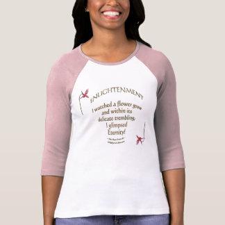 """Camiseta """"Floral literário floral de inspiração das"""