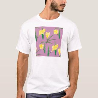 Camiseta Flores amarelas do açafrão