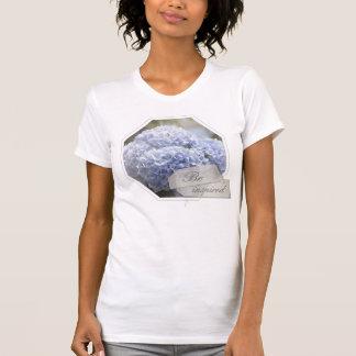 Camiseta Flores azuis do Hydrangea do diamante