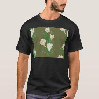 Camiseta Flores brancas 2 do açafrão