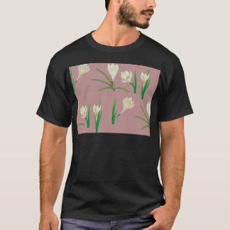 Camiseta Flores brancas do açafrão