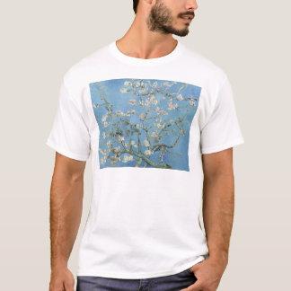 Camiseta Flores da amêndoa de Vincent van Gogh do vintage