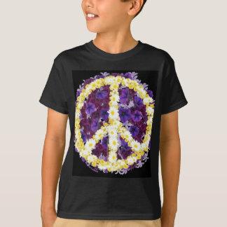 Camiseta flores da paz