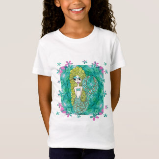 Camiseta Flores da sereia