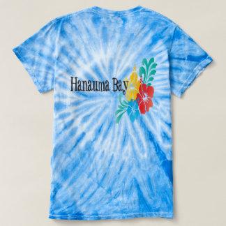 Camiseta Flores de Havaí da baía de Hanauma