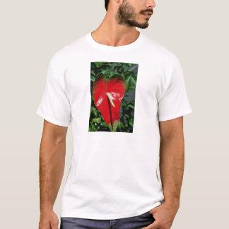 Camiseta Flores do antúrio