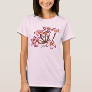 Camiseta Flores do Frangipani