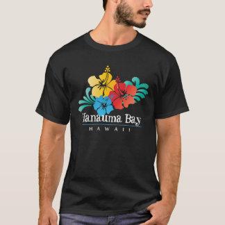 Camiseta Flores do hibiscus de Havaí da baía de Hanauma
