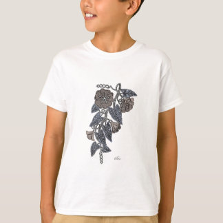 Camiseta Flores do laço