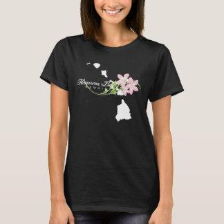 Camiseta Flores do Plumeria das ilhas de Havaí