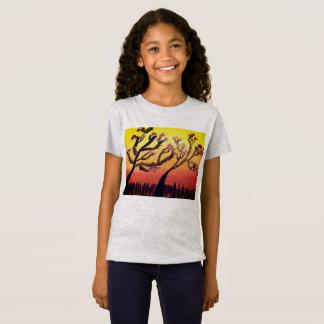 Camiseta Flores do por do sol