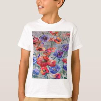 Camiseta Flores no campo do verde