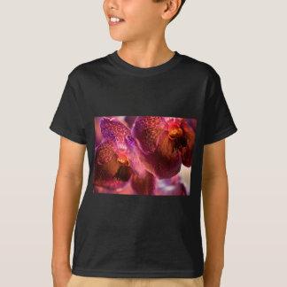 Camiseta Flores puras da cera de Vanda da orquídea