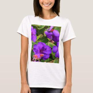 Camiseta Flores roxas de Tibouchina