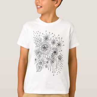 Camiseta Flores selvagens