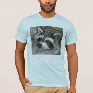 Camiseta Floresce o guaxinim notável