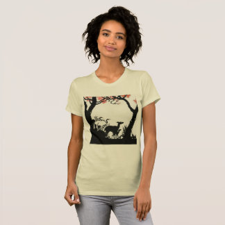 Camiseta Floresta Animlas