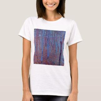 Camiseta Floresta da faia por Gustavo Klimt, arte Nouveau