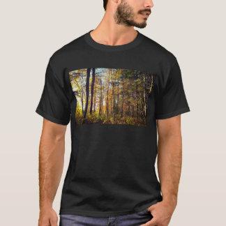Camiseta Floresta do outono de New Hampshire