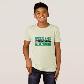 Camiseta Floresta húmida Brasil de Amazon