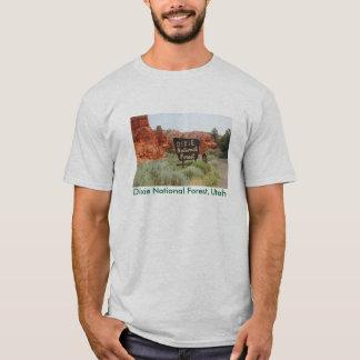 Camiseta Floresta nacional de Dixie