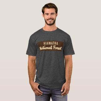 Camiseta Floresta nacional de Hiawatha
