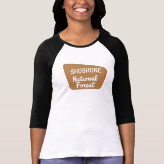 Camiseta Floresta nacional do Shoshone (sinal)