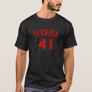 Camiseta Florida 41 designs do aniversário