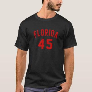Camiseta Florida 45 designs do aniversário
