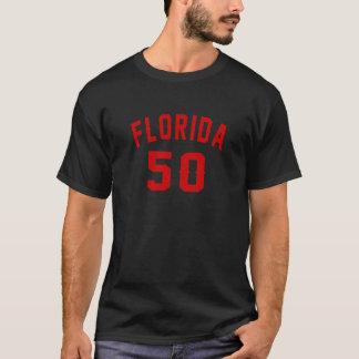 Camiseta Florida 50 designs do aniversário