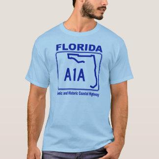 Camiseta Florida estrada litoral cénico e histórica de A1A