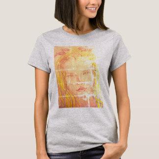 Camiseta florista da lavanda