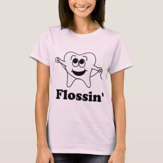 Camiseta Flossin (com dente feliz!)