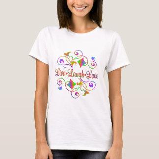 Camiseta Flourish vivo do amor do riso